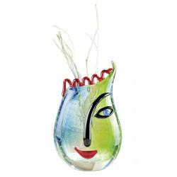Gilde GlasArt Design Vase Vero