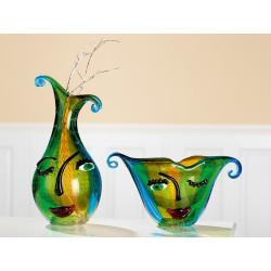 Gilde GlasArt Design Vase Twinkle