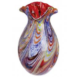 Gilde GlasArt Vase Colorista