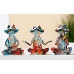 Gilde Yoga Frosch Collage