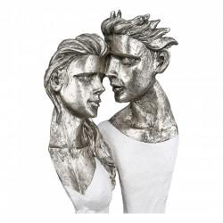 Casablanca Skulptur Believe weiß silber