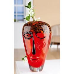 Gilde GlasArt Design Vase Visivo
