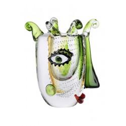 Gilde GlasArt Design Vase Visione