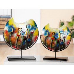 Gilde GlasArt Vase Fresh Flowers
