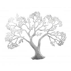 GILDE Wandrelief Baum 78x62cm