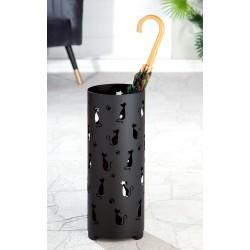 Gilde Schirmständer Cats schwarz pulverbeschichtet