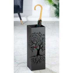 Gilde Schirmständer Lebensbaum schwarz pulverbeschichtet