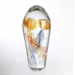Casablanca Skulptur Qualle Funny Medusa goldfarben