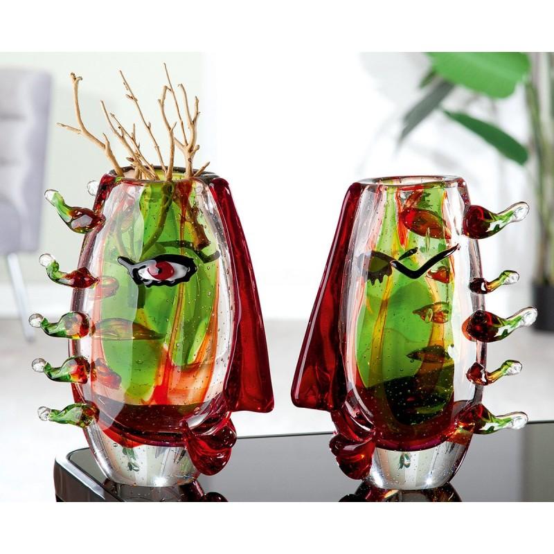 Gilde GlasArt Design Vase Visa
