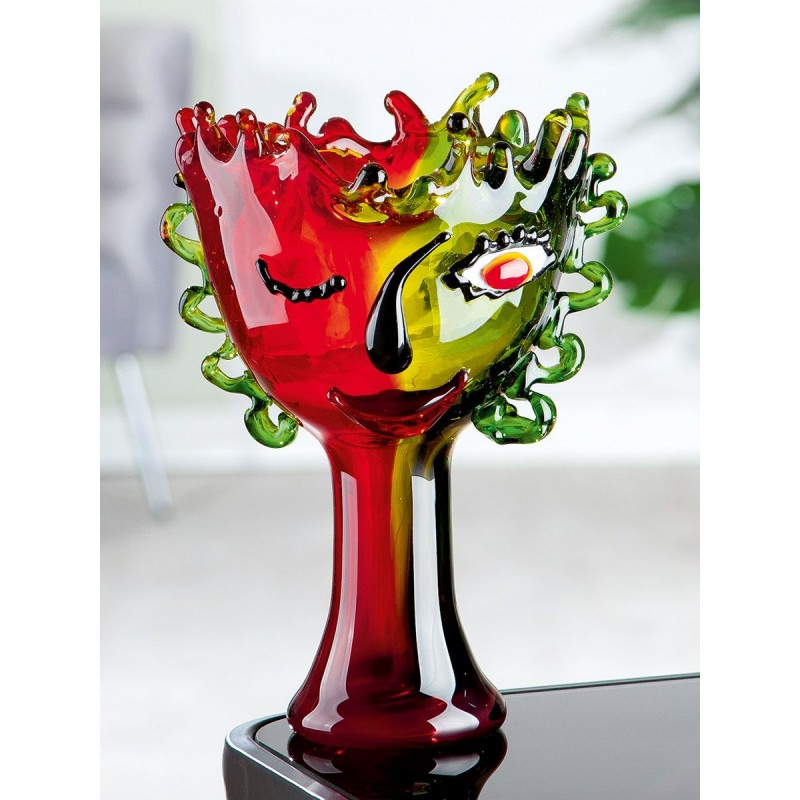Gilde GlasArt Designschale Visual