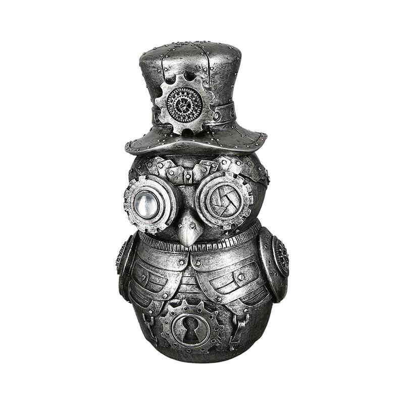 Casablanca Skulptur Steampunk Owl