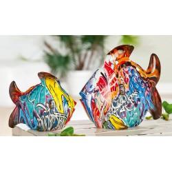Gilde Fisch Pop Street Art Graffiti Design groß