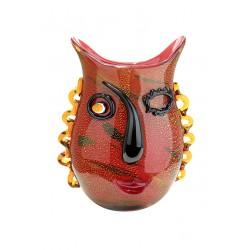 Gilde Glas Art Design Vase Boccolo