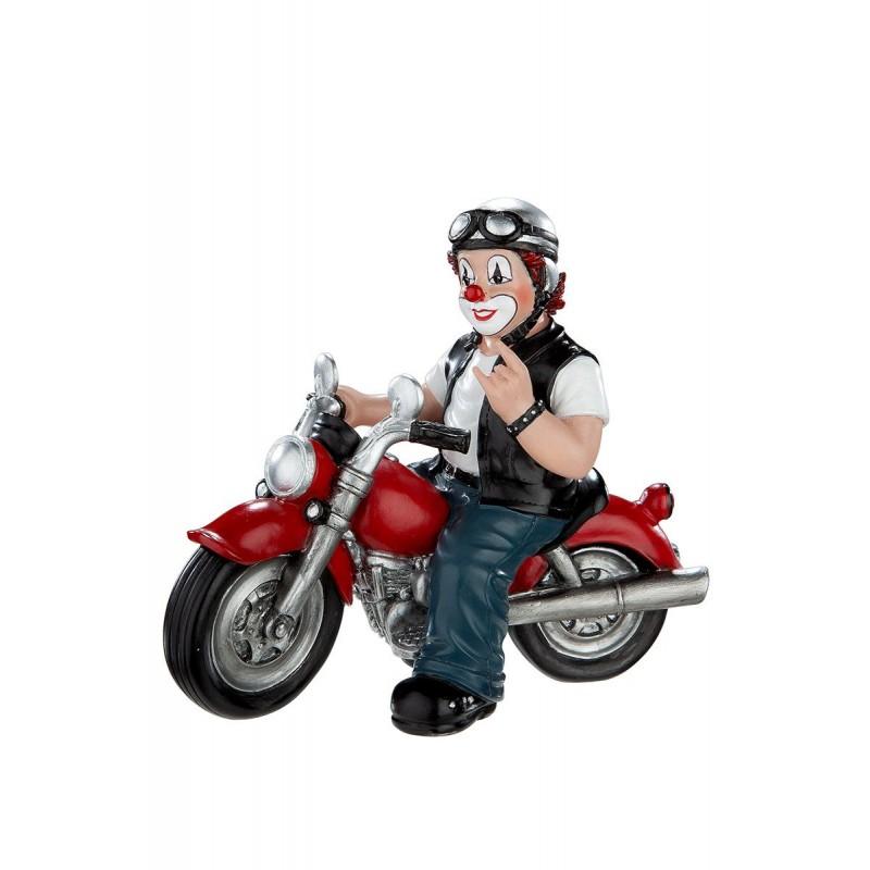 Gilde Clowns Clown Figur Heavy Biker