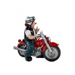 Gilde Clowns Clown Figur Heavy Biker Motorradfahrer