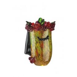 Gilde GlasArt Vase Flora
