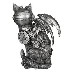 Casablanca Skulptur Steampunk Cat