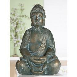 GILDE Magnesi Thai-Buddha Antik Gold 51 cm