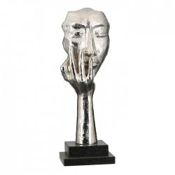 Casablanca Skulptur Mannequin antik-silber