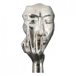 Casablanca Skulptur Mannequin antik-silber Aluminium