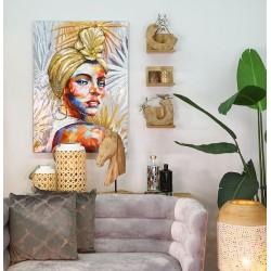 Casablanca Bild African Beauty goldfarben silberfarben