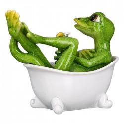 Casablanca Figur Eidechse Lizard in Badewanne