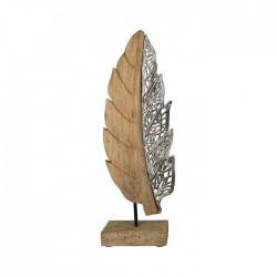 Casablanca Skulptur Blatt Jali 61cm