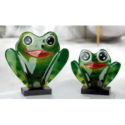 Gilde GlasArt Figur Frosch 16cm