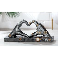 Casablanca Skulptur Steampunk Hand