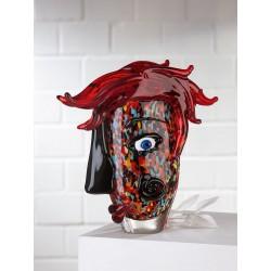 Gilde GlasArt Design Vase Confuso
