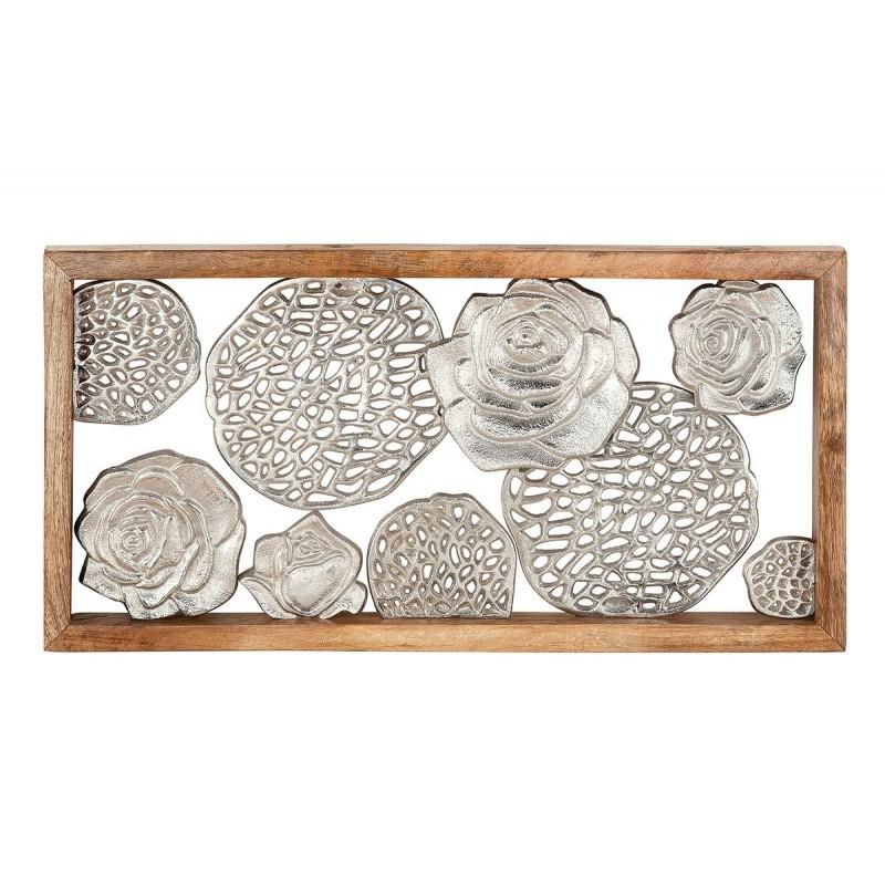 Gilde Rahmen Rosengarten Mangoholz & Aluminium