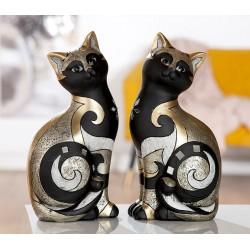 Gilde Deko Figur Katze Luxor