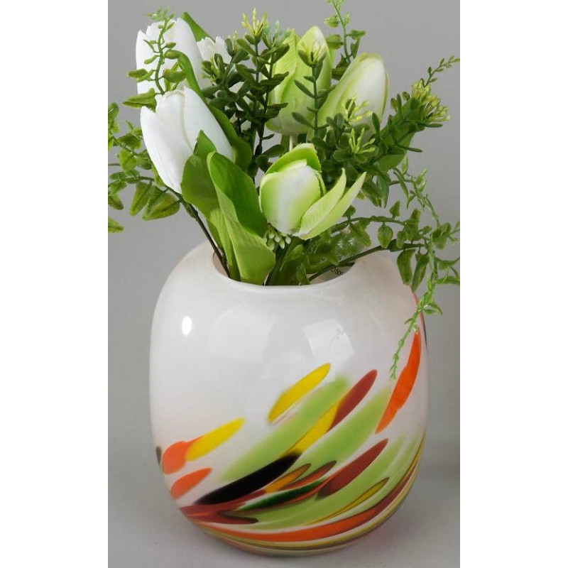 Dekovase multicolori, 17 cm