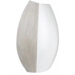 Formano Moderne Vase in Holzoptik 35x23x13 cm